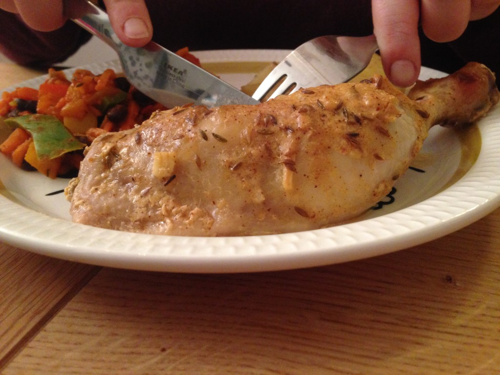En deilig og smaksrik mariande som setter en ekstra spiss på kyllingmiddagen! Nammis!