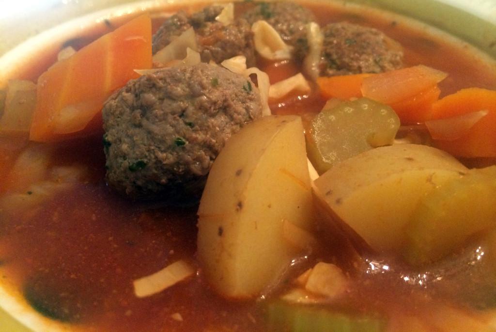 Suppen tar litt tid å lage, men det er den verdt