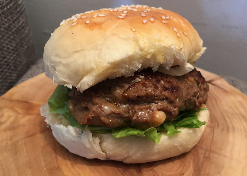 Amerikanske hamburgerbrød