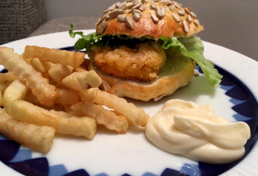 Kyllingburgerdressing
