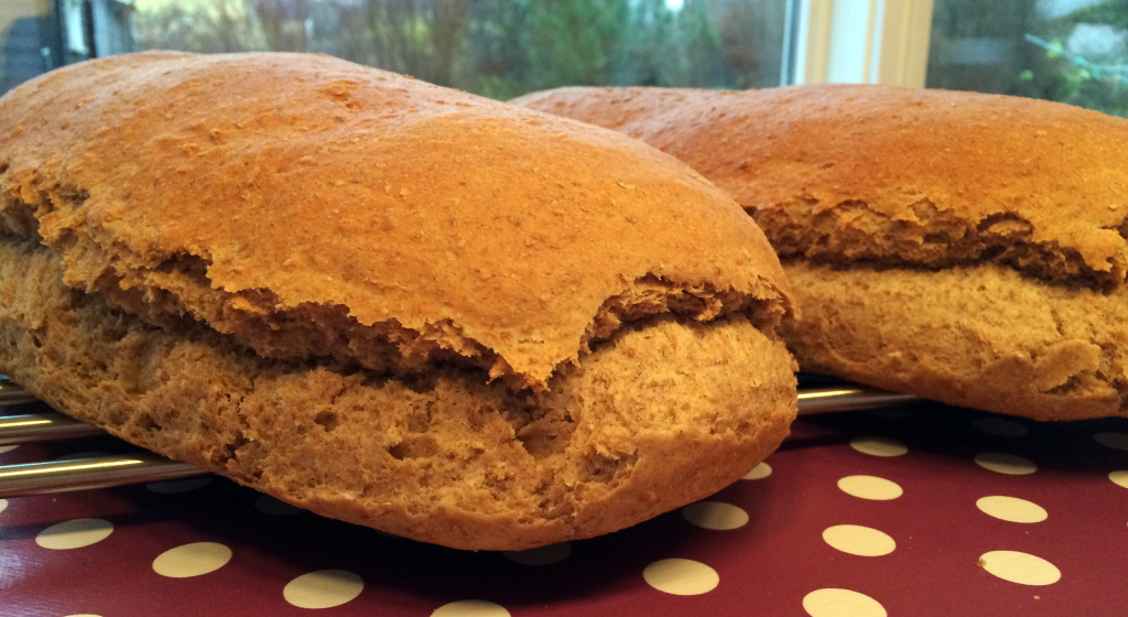 Oppskriften holder til to brød.