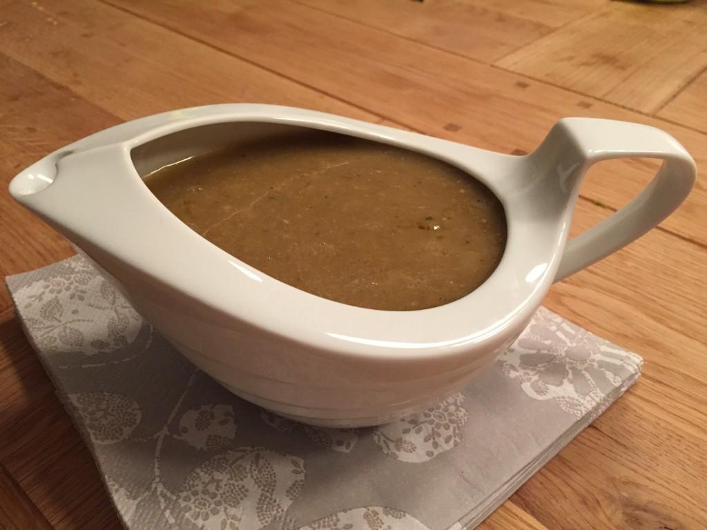 Det tar litt tid å lage denne sausen, men den er veldig god
