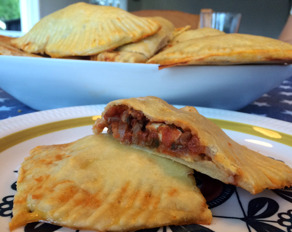 Empanadas med storfekjøtt