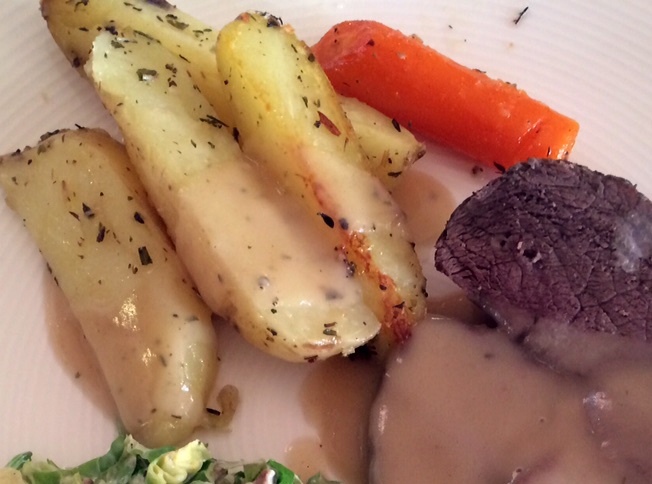 Ovnsbakte poteter er perfekt tilbehør til stek