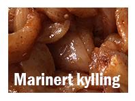 Marinert kylling