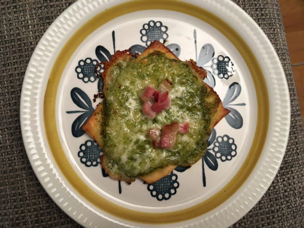 Grønn pizzasaus