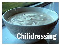 Rømmedressing med chili