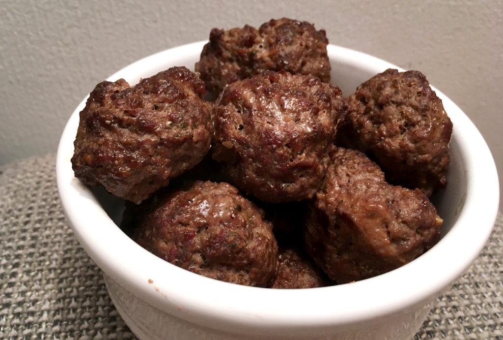 Kjøttboller av elg