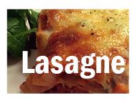 Familievennlig lasagne