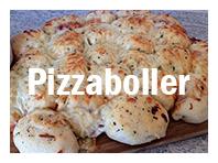 Ordentlig digge pizzaboller. Best når de fortsatt er varme!