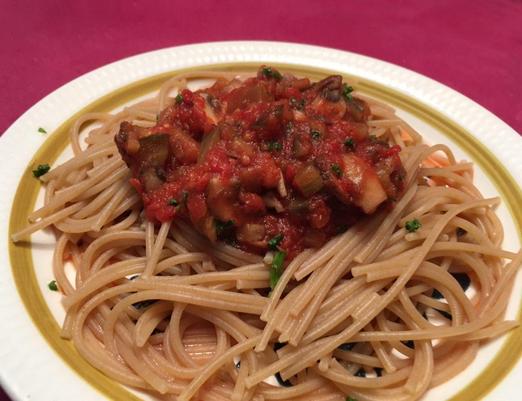 Vegetarspagetti