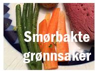 Smørbakte grønnsaker