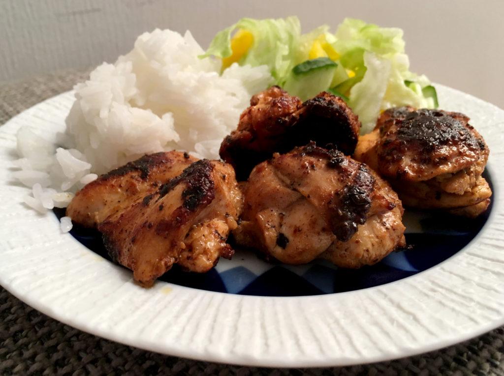 Kyllingstrimler med tandoorimarinade