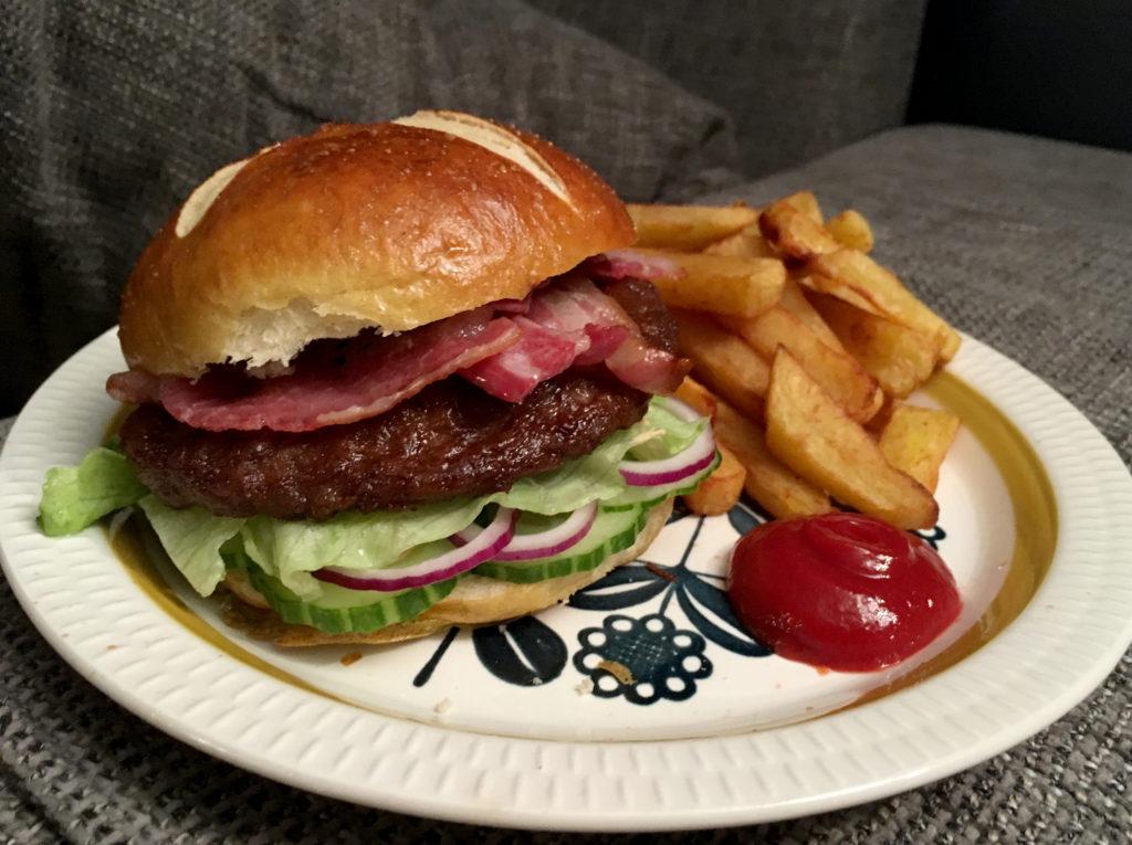 Seige og saftige hamburgerbrød