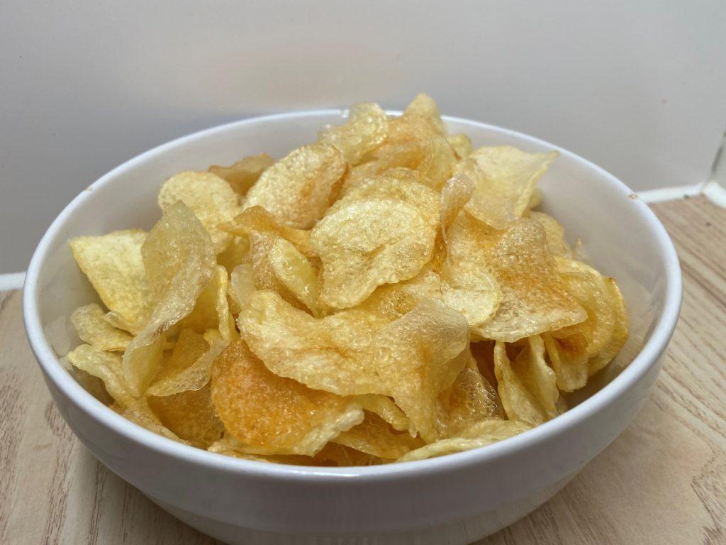 Skål med potetgull